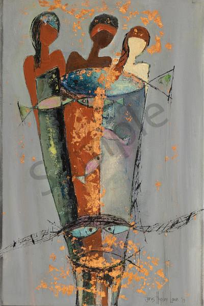"""Sisterhood"" by South African Artist Janis Ann Hopley | Prophetics Gallery"