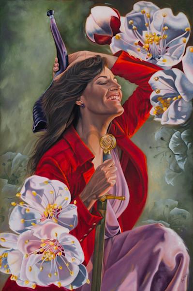 """Warring Worshipper"" South African Artists by Ilse Kleyn | Prophetics Gallery"