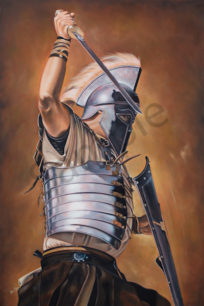 """Gibbor"" by South African Artist Ilse Kleyn | Prophetics Gallery"