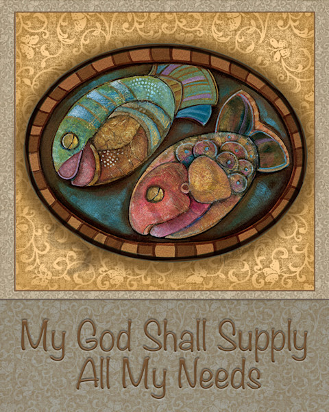 """God Shall Supply"" by Georgia Artist Lynne Davis 