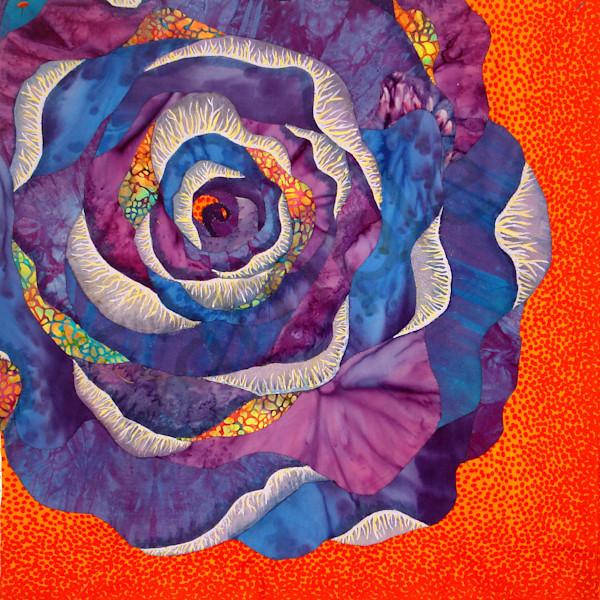 Rose  Art | Barbara Olson Fiberarts