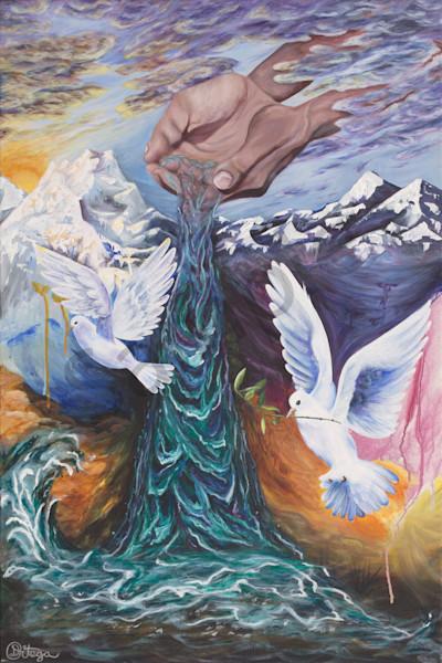 """Living Water"" by Canadian Artist Danielle Ortega   Prophetics Gallery"