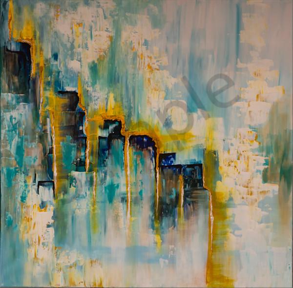 """Open Gates Of Glory"" by German Artist Angela Günther | Prophetics Gallery"