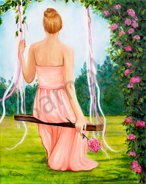 """""""A Rose In Your Garden"""" by Canadian Artist Jeanette Sthamann   Prophetics Gallery"""