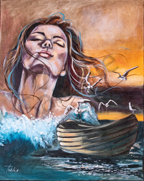 """""""Peace Be Still"""" by South African Artist Antoinette Holtzhausen   Prophetics Gallery"""