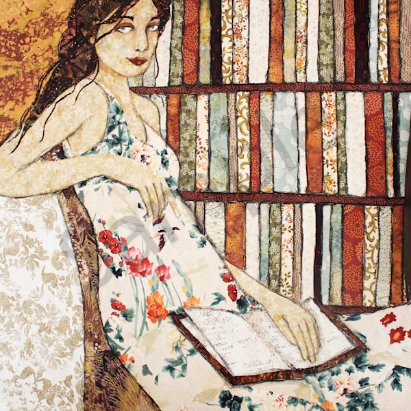 Light Reading is a print by sharon Tesser