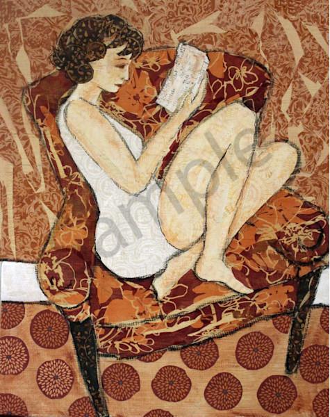 A Quiet Read Print by Sharon Tesser