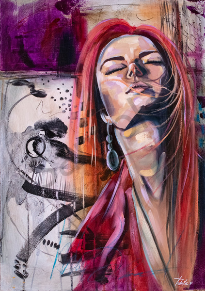 """""""Closer"""" by South African Artist Antoinette Holtzhausen 