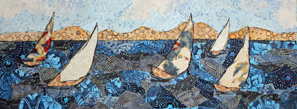 Sail Away print by Sharon Tesser