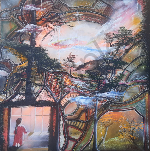 """""""Prayer Breakthrough"""" by Denmark Artist Bo Shultz   Prophetics Gallery"""