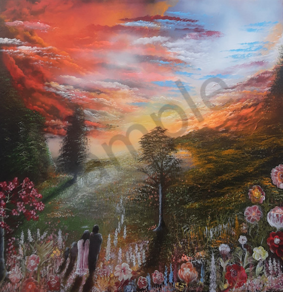 """""""Spring Of The Heart Into Eternity"""" by Bo Shultz 