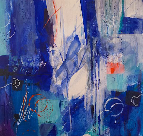"""Winter Bird"" by New Hampshire Artist Judy Johnson | Prophetics Gallery"