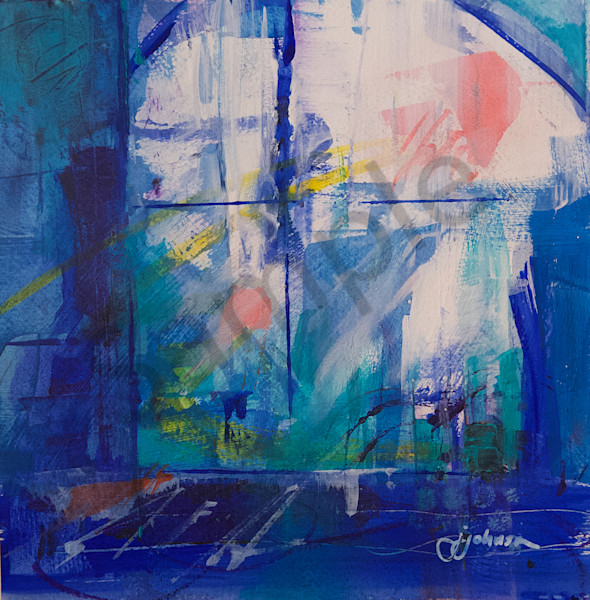 """""""See Through the Glass Dimly"""" by New Hampshire Artist Judy Johnson 