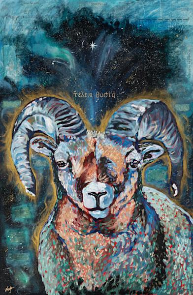"""Perfect Sacrifice"" by Arizona Artist Heidi Ngai   Prophetics Gallery"