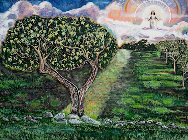 """Son Of Man Returning"" by Arizona Artist Heidi Ngai   Prophetics Gallery"