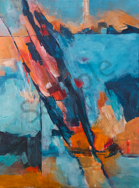 """Breakthrough"" by New Hampshire Artist Judy Johnson   Prophetics Gallery"