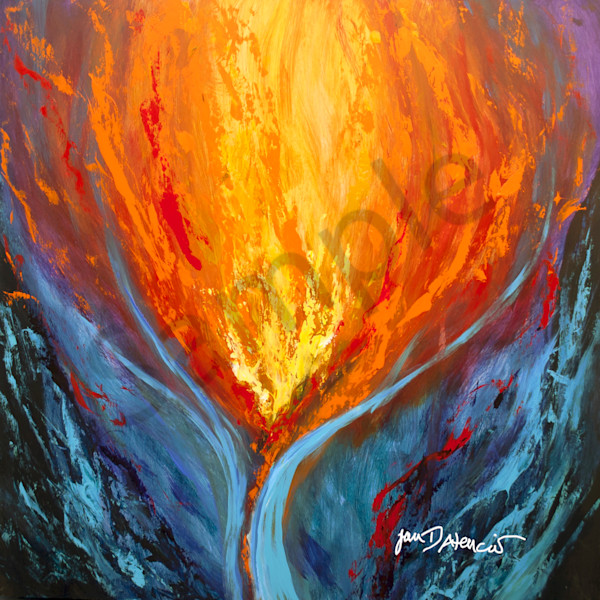 """""""Ignite"""" by New Mexico Artist Jan Atencio   Prophetics Gallery"""