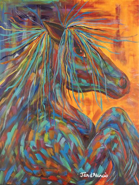 """""""War Horse"""" by New Mexico Artist Jan Atencio   Prophetics Gallery"""