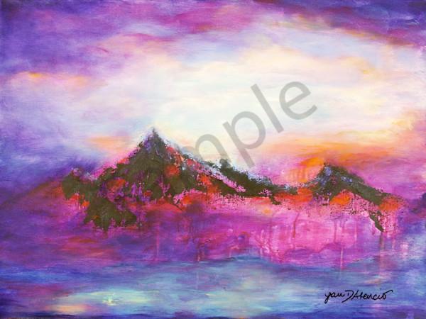 """Crimson Glory"" New Mexico Artist by Jan Atencio   Prophetics Gallery"