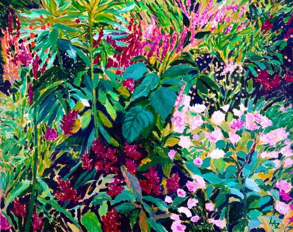 Summer Botanicals Art | Lee Ann Zirbes ARTIST