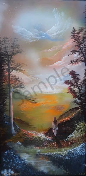"""Morning Grace"" by Danish Artist Bo Schultz | Prophetics Gallery"