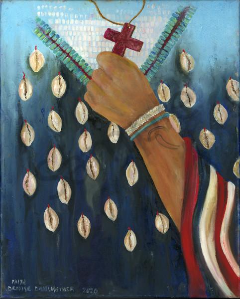 Faith. The Shell Dress by Minnesota Artist Denise Dahlheimer | Prophetics Gallery