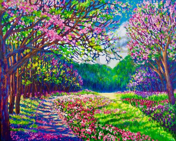 Mountain Spring Art | Lee Ann Zirbes ARTIST
