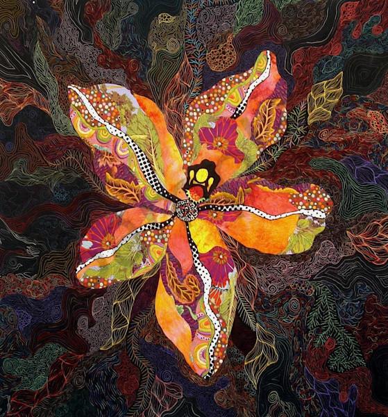 Wild Child  Art | Barbara Olson Fiberarts
