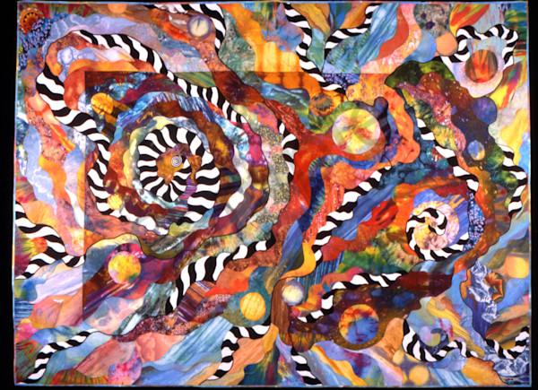 Time Warp Art | Barbara Olson Fiberarts