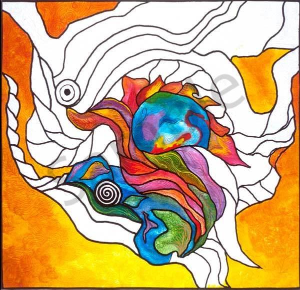 Emergence 1 Art | Barbara Olson Fiberarts
