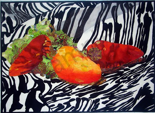 Peppers Art | Barbara Olson Fiberarts