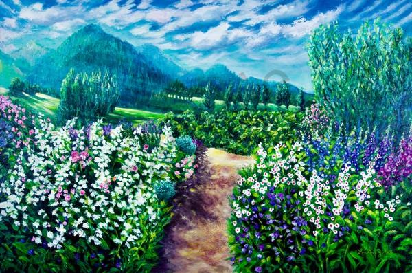 California Sunlight Art | Lee Ann Zirbes ARTIST