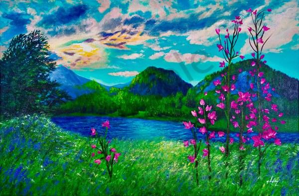 Mountain Tranquility Art | Lee Ann Zirbes ARTIST