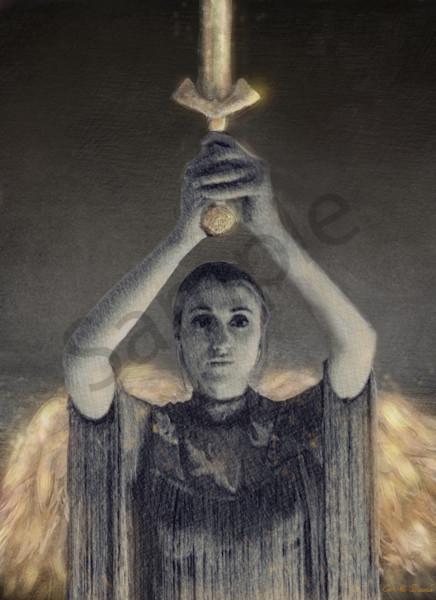 """Warrior"" by Louisiana Prophetic Artist Camille Barnes | Prophetics Gallery"