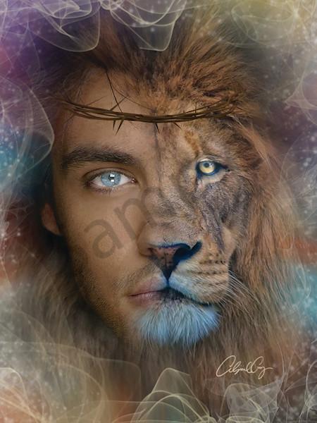 """Lion of Judah"" by Pennsylvania Prophetic Digital Artist Abigail Cruz | Prophetics Gallery"
