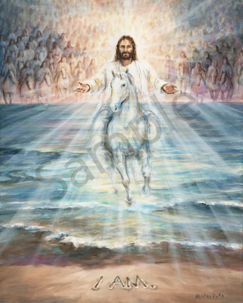 """I AM Returns"" by Canadian Prophetic Artist Melani Pyke | Prophetics Gallery"