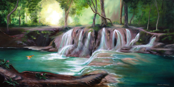 """""""Living Waters"""" by Canadian Prophetics Artist Jeanette Sthamann 