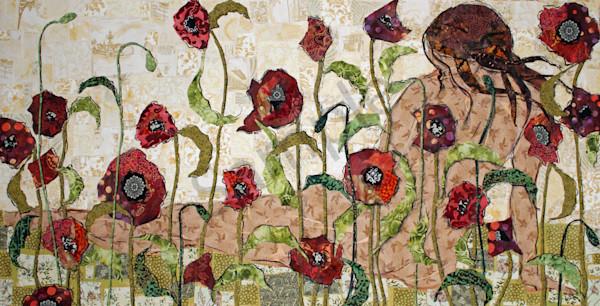 Hidden In The Flowers Print Art | Sharon Tesser LLC