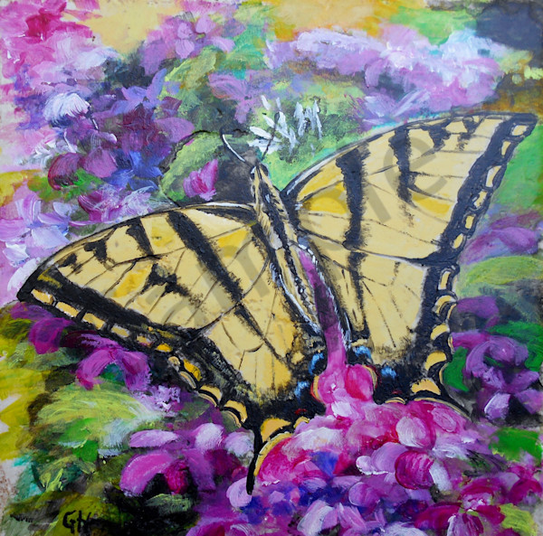 """""""Yellow Swallowtail"""" by Indiana Prophetic Artist Gina Harding 