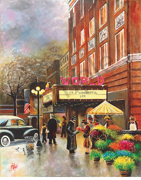 """World Theater"" by Nebraska Prophetic Artist Jeff Montag | Prophetics Gallery"