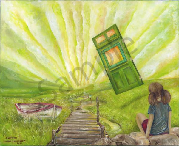 A New Wind by Minnesota Prophetic Artist Denise Dahlheimer | Prophetics Gallery