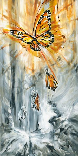 """Monarch Emerging"" by Canadian Prophetic Artist Melani Pyke   Prophetics Gallery"