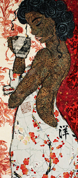 Girl With A Curl Print Art | Sharon Tesser LLC