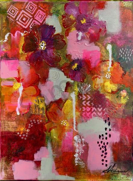 """Wild Flowers"" by North Carolina Prophetic Artists Sharon Adams | Prophetics Gallery"