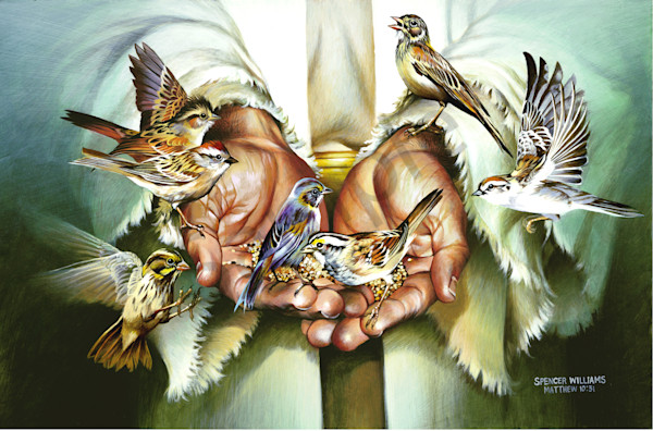 """""""Hands Of Christ"""" by Tennessee Prophetic Artist Spencer Williams 