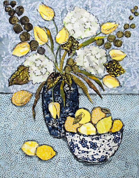 Tulips And Lemons Print Art | Sharon Tesser LLC