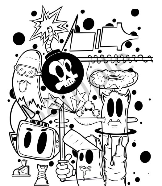 90's Style Art   Art by Nabes