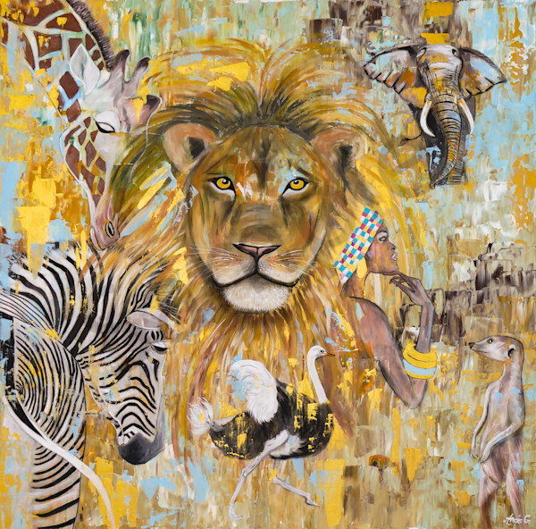 """""""South Africa Love"""" by German Artist Angela Günther   Prophetics Gallery"""