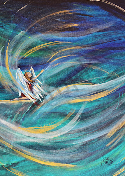 """""""Winds Of Change"""" by South Carolina Prophetic Artist Sarah Camille Soltani Icely 