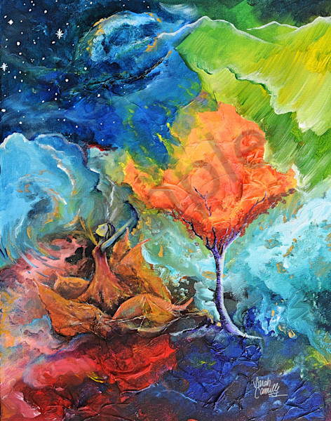"""""""Seasons"""" by South Carolina Prophetic Artist Sarah Camille Soltani Icely 